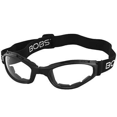 Bobster Crossfire Folding Goggles (Anti-fog Clear Lens)