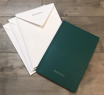 Gucci Floral GG Look Book *NEW With Gucci Envelope