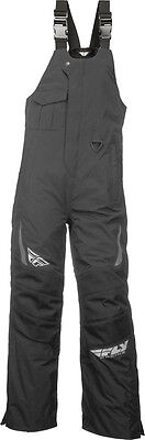FLY RACING Snow Snowmobile - AURORA Bibs/Pants (Black) L (Large) TALL