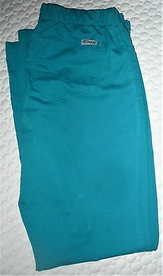 Womens Grey's Anatomy Green Scrub Pants Size Small/regular