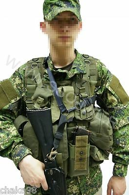 Russian Army Spetsnaz AK Sling SPOSN RT-4 Trehtochechnik Black SSO