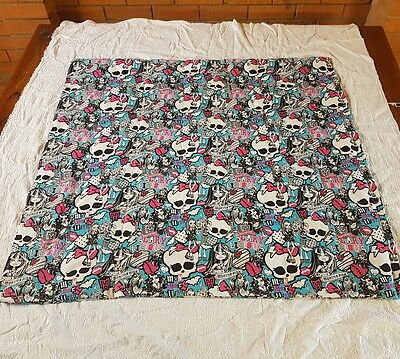 3kg weighted XL blanket 104cm x 98cm monster high print