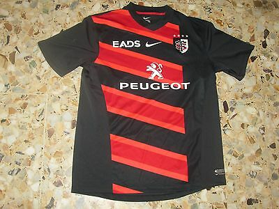 maillot shirt jersey ancien rugby STADE TOULOUSAIN TOULOUSE  2011-2012  NIKE