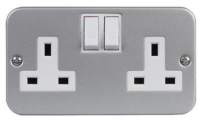 METALCLAD 2G SWITCHED SOCKET Electrical Switches & Socket Outlets