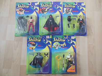 Lot figurines vintage The Shadow KENNER 1994