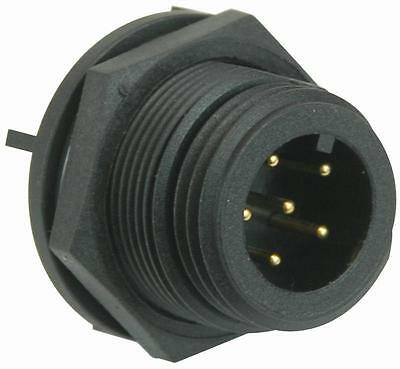 PLUG PCB IP68 6POLE Connectors Industrial