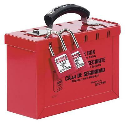 PORTABLE GROUP LOCK BOX Personal Protection & Site Safety Lockout