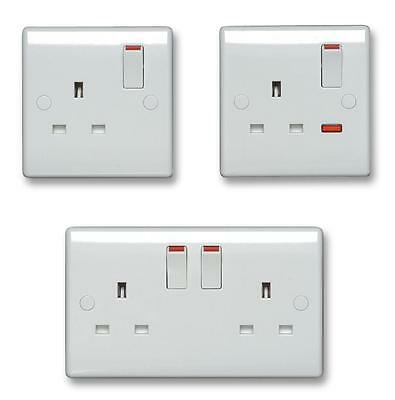 SOCKET 2G SWITCHED DOUBLE POLE Electrical Switches & Socket Outlets