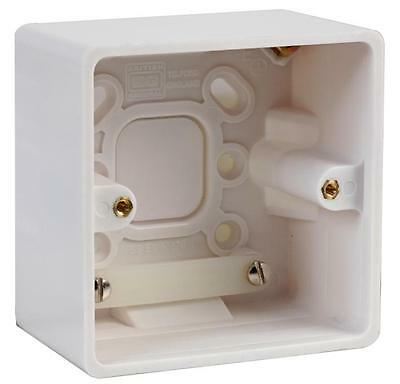 SURFACE BOX 1 GANG 50MM Electrical Back Boxes/Mounting Boxes