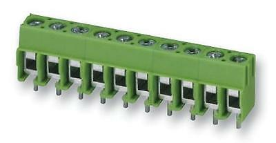TERM BLOCK PCB SCREW 5.0MM 6WAY Connectors Terminal Blocks