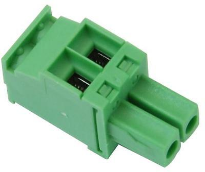 TERMINAL BLOCK RA PLUG 3.50MM 2 WAY Connectors Terminal Blocks, TERMINAL