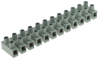 TERMINAL STRIP PA66 12P HI TEMP 6MM Connectors Terminal Blocks, TERMINAL