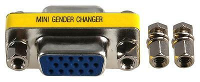 VGA F-F GENDER CHANGER Connectors Inter-Series adapters , VGA F-F GENDER