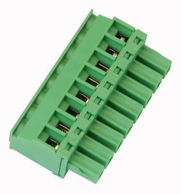 TERMINAL BLOCK RA PLUG 3.81MM 8 WAY Connectors Terminal Blocks, TERMINAL