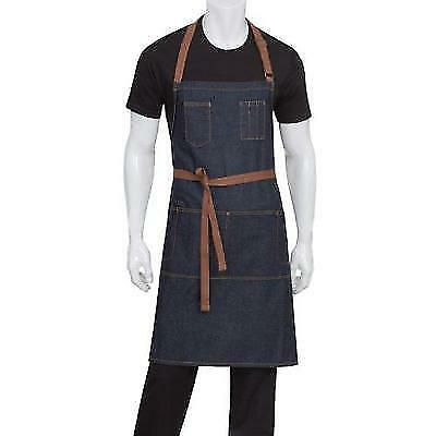 Chef Works Memphis Bib Apron (AB035) New