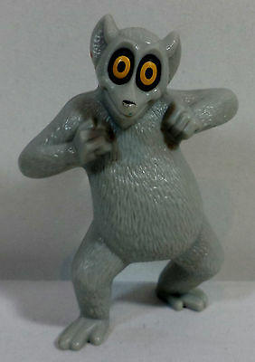 DREAMWORKS MADAGASCAR 2008 KING JULIEN PLASTIC SINGING FIGURE BY McDONNALDS