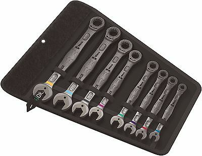 Wera Joker Combination Ratcheting Wrench Set Imperial 8 Pieces 05020012001