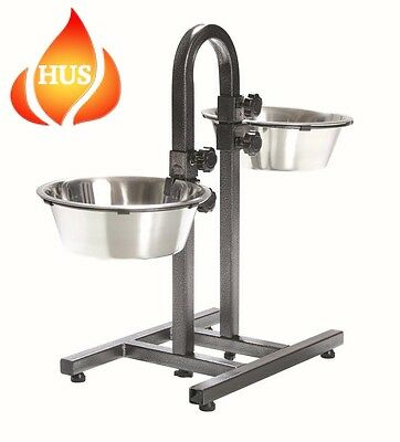 Trixie 2497 Dog Bowl Stand With Separate Height Adjustment 2 x 2.8 L ø 24 cm