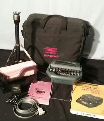 Stentura 400 Electric Stenograph Bundle Accessories,tested works great shape