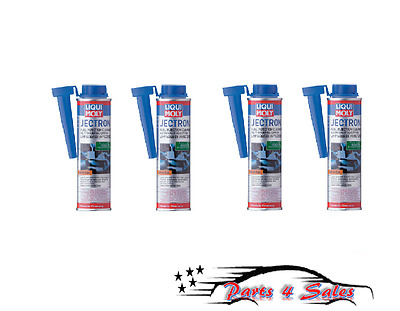 Set of 4 Liqui Moly JECTRON Fuel Injection Cleaner 300ml - Gasoline Additive NEW