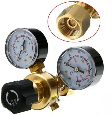 New Gas bottle regulator CO2 Argon Mig Tig Welding 0-315 bar pressure reducing