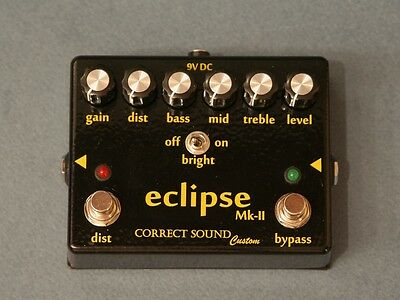 eclipse Mk-II Bass Preamp, distortion (based on preamplifier SUNN Concert Lead)