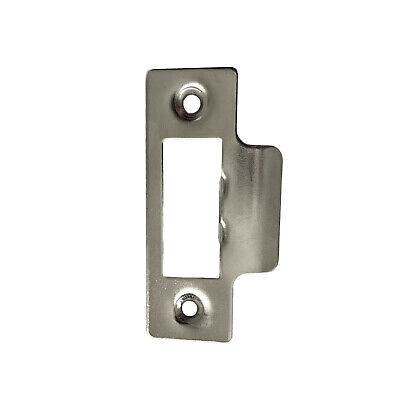 Strike Plate Single To Use With Tubular Mortice Door Latch