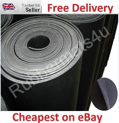 Reinforced Neoprene INSERTION Rubber 1.2mtr wide x various length & thicknesses