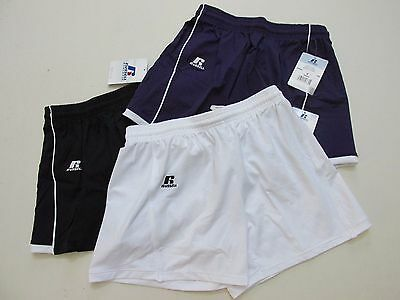 Russell Athletics Women's Shorts With Piping Choose Color And Size New