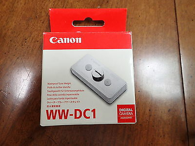 Canon WW-DC1 Case Weight for Underwater Housings - Brand New!!