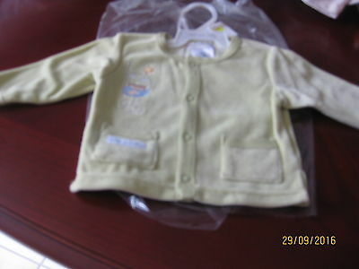 Baby Coat By Max & Tilly Size 00 Velour Look Very Light Green (B0Y)