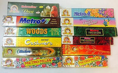 Metro Milan Cat Brand Incense Joss Prayer Sticks Agarbatti Temple Aroma Insense