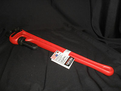 Ridgid 31030 24-Inch Heavy-Duty Straight Pipe Wrench