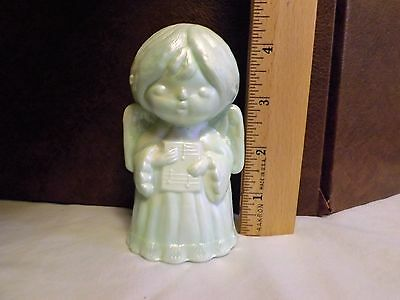 Mosser Glass Angel Holding Book Figurine