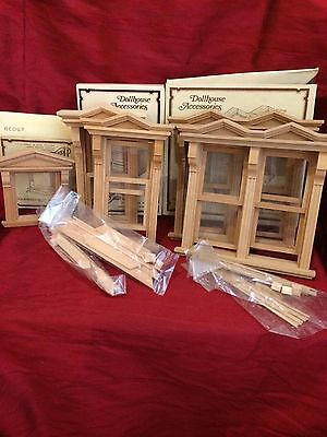 Dollhouse Miniatures, Dollhouse Accessories, Houseworks Items #5002, 5015, 5039