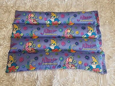 3.5kg weighted lap blanket Alice in Wonderland  print
