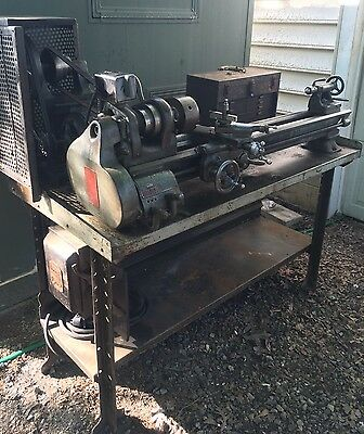 "Local PICKUP South Bend Metal Lathe 9"" Model A QC Gear Box Machinist Box Tools"