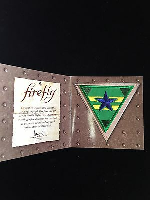Loot Crate EXCLUSIVE Serenity Firefly Independents Patch  QMX EMBROIDERED NEW