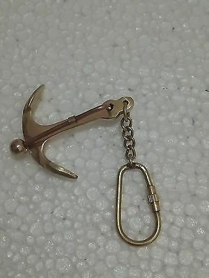 Nautical Brass Collectible Anchor Key Chain For Christmas
