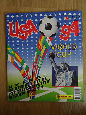 album panini World Cup USA 94 1994 Dutch edition full complet + extra stickers !