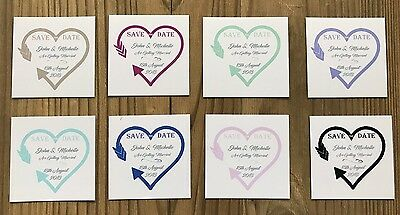 Personalised Magnetic Save The Date Cards & Envelopes