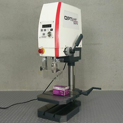 Bench Drill Press Industrial Tapping Mode High Variable Speed 50-4000rpm OPTIMUM