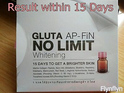 GLUTA APPFiN NO LIMIT Whitening in 15 days Edible Glutathione No Injection