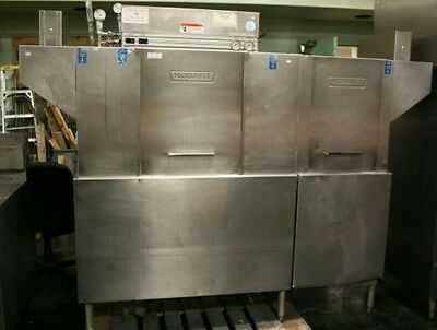 Hobart high temp conveyor Dishmachine