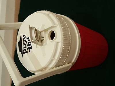Vintage Pizza Hut Igloo Half 1/2 Gallon Water Cooler Dispenser With Carry Handle