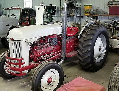 1947 Ford 8n Tractor With 1951 Mercury Flat Head V8