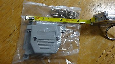 DB25 Female Parallel D-Sub connector Two Piece Plastic Backshells Hoods -