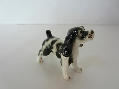 Vintage Miniature English Springer Spaniel 1950s