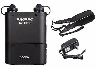 Godox PB960 ProPac 4500mAh External Battery Pack -  Camera Flash Speedlite USA