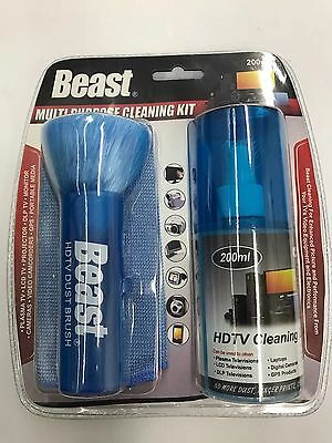 Beast Multi-Purpose HDTV GPS PROJECTOR Cleaning Kit New